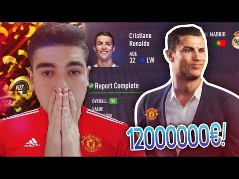 רונאלדו עובר למנצ'סטר יונייטד ב-120,000,000€?