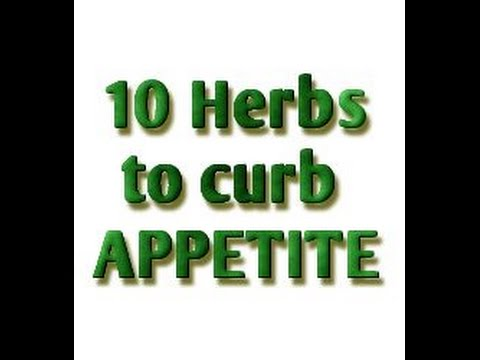 APPETITE SUPPRESSANTS (ANORECTIC HERBS)