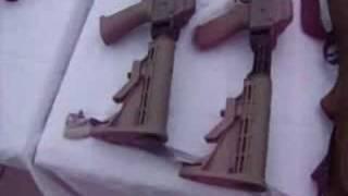 Decomiso de arsenal en Agua Prieta, Sonora, Mexico