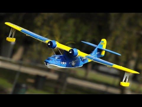 New Dynam Catalina Twin Engine Sea Plane Blue Version