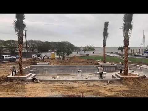 Medjool install for Houston Yacht Club