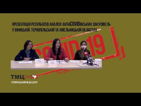 ТМЦ.ІНФО - Тернопільський медіа-центр: Презентація результатів аналізу антиCOVIDівських закупівель