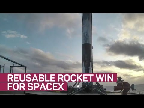 SpaceX nails reusable rocket milestone