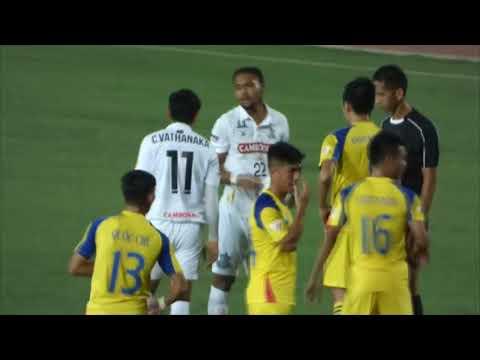 Boeung Ket FC (Cambodia) vs Sanna Khanh Hoa BVN FC (Vietnam), Round 1 ( part1 ) 13 Dec 2017