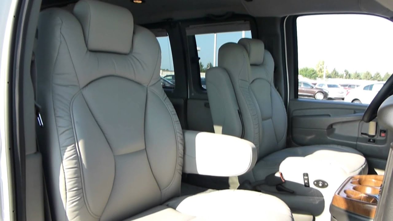 603c3aefbd 2014 GMC Customizers Platinum Traveler Low Top Conversion Van
