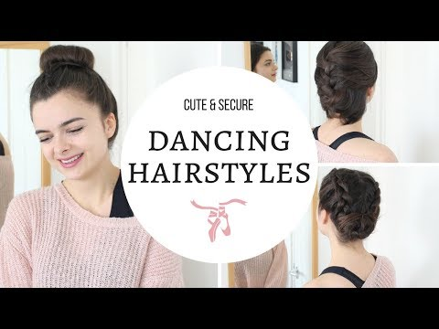 Hairstyles For Dancing | Workout & Gym | Cute & Secure