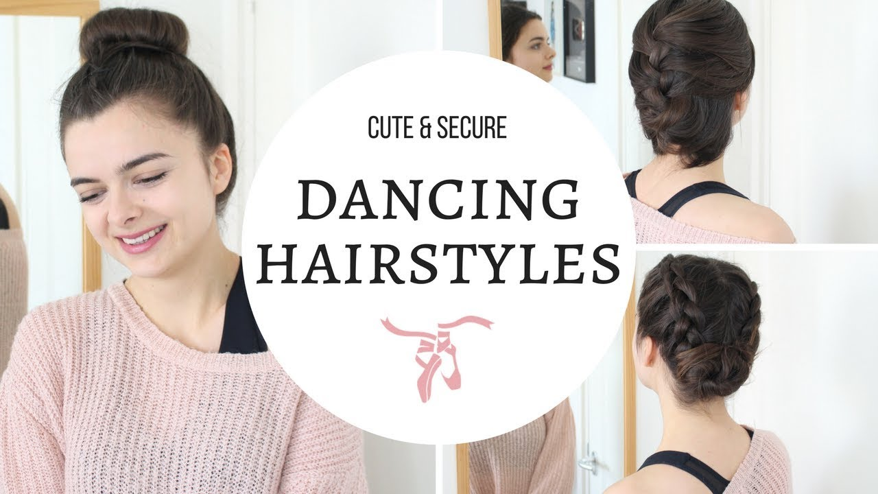 Hairstyles For Dancing Workout Gym Cute Secure Youtube