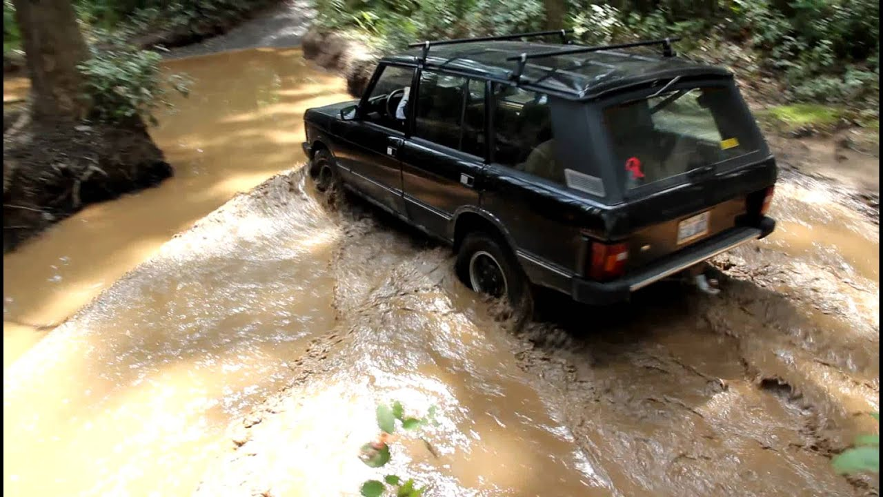 1993 Range Rover Classic LWB froading