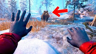 リアルすぎて本当に恐ろしい体験ができる雪山遭難サバイバルゲーム「 Winter Survival Simulator 」