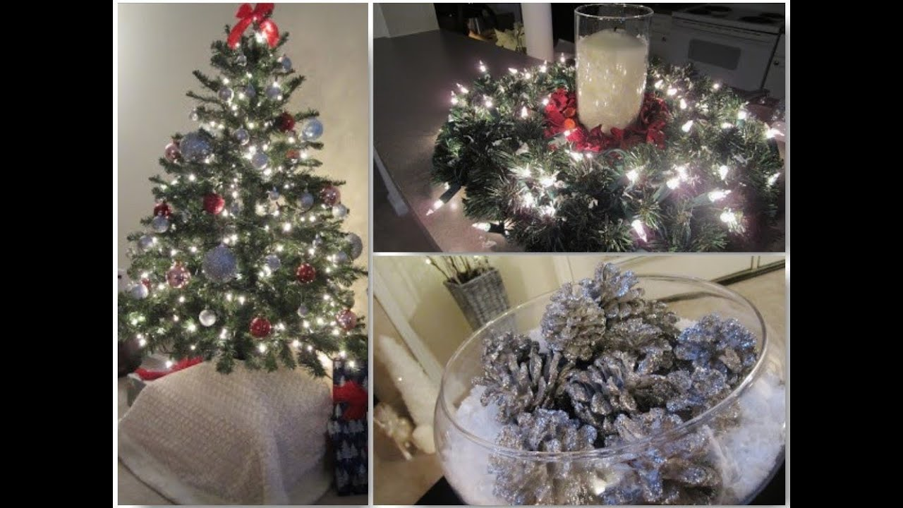 Christmas decor and indoor christmas decorations youtube for Inside xmas decorations