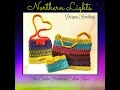 Northern Lights Crochet Handbag - Purse - Beachbag - Clutch!