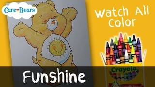 Funshine Coloring Pages - Care Bears   by WatchAliColor
