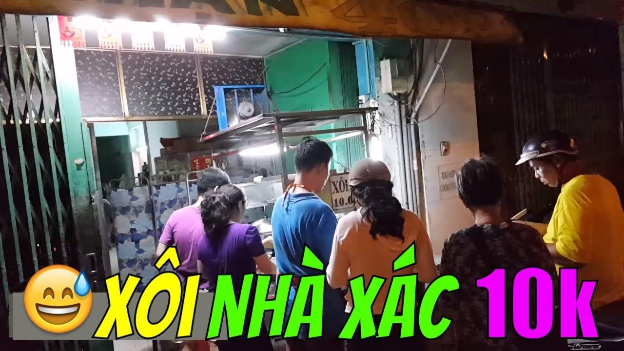Rùng rợn xôi nhà xác 10k NGÀY GIỖ CÁC VUA HÙNG|  Guide Saigon Food