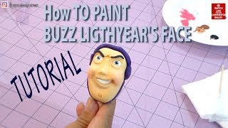 HOW TO PAINT BUZZ LIGHTYEAR