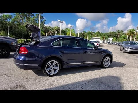 2015 Volkswagen Passat Orlando, Sanford, Kissimme, Clermont, Winter Park, FL 4487A