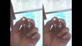 [루루골드]14K 러빙 D라인 원터치 귀걸이 E17-9…