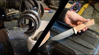 How to make Knife From a Bearing