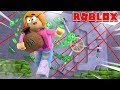 Roblox Rob The Bank Obby With Molly!