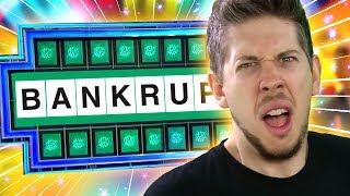 Wheel Of Fortune | GET BANKRUPTED!