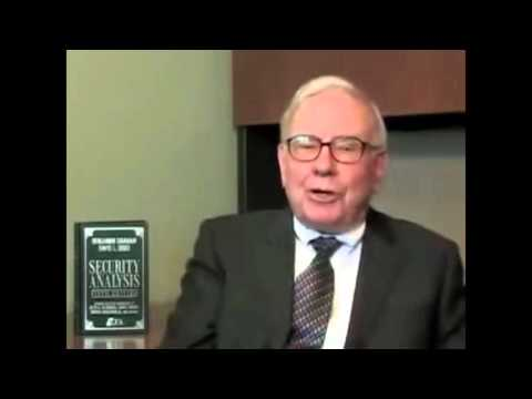 Warren Buffett on Ben Grahams Security Analysis