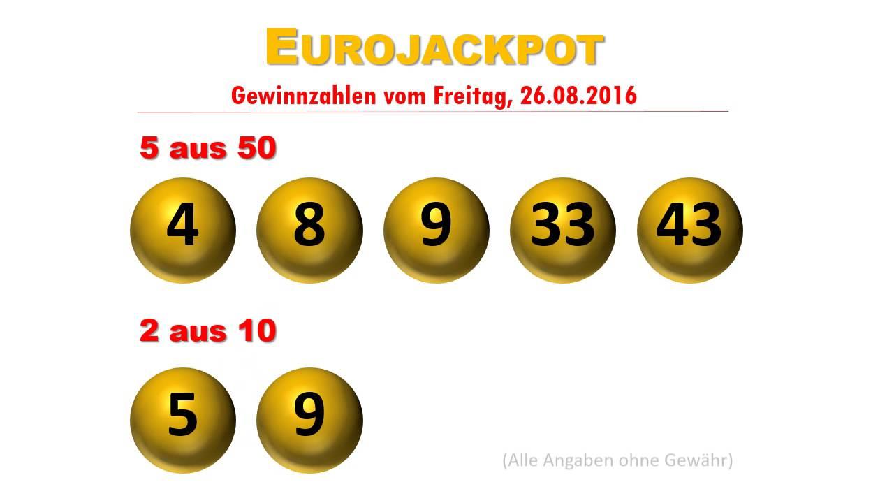 Euro Jackpot Freitag