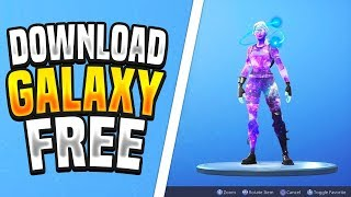 How to get the GALAXY SKIN for free in Fortnite! Get the Galaxy skin for free on any device!
