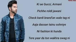 Ki ae gucci armani song lyrics