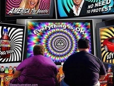 TV Brainwashing   Illuminati Programming  Music, News, Hollywood & Science