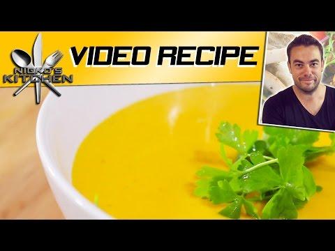 Thai Style Pumpkin Soup | Nicko's Kitchen