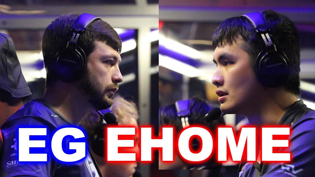 Eg vs ehome best dota 2 game ever top 3 ti6 youtube for E home com