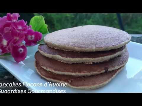 pancakes-aux-flocons-d'avoine{-sugardises-gourmandises-}#cookexpert-#magimix-#healthy