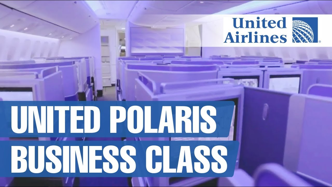 United Airlines Polaris Business Class Boeing 777-200
