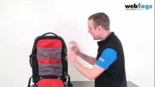 """The North Face Doubletrack 21"""" Travel Pack - Versatile backpack & wheeled luggage carrying system."""