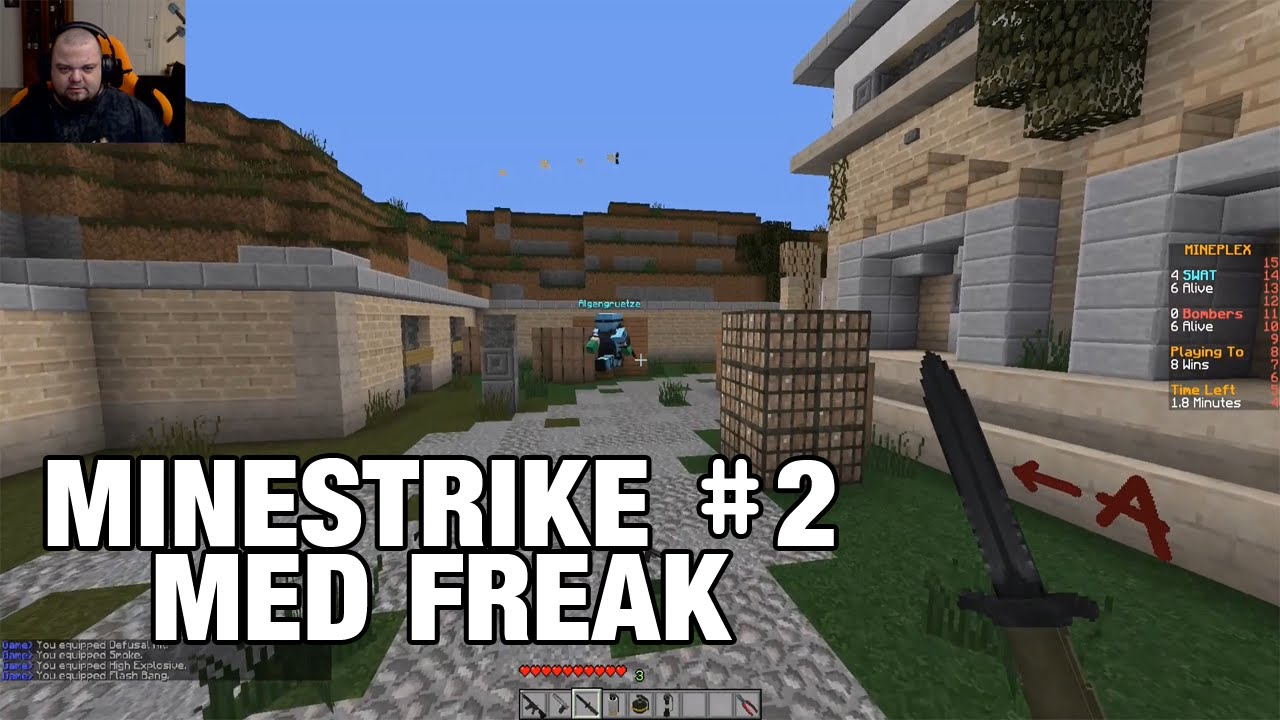 Danish Minestrike 2 Med Freak Youtube