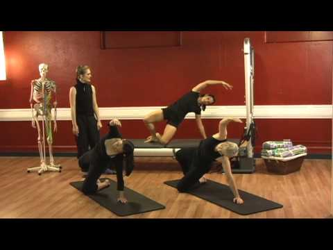 Upside-Down Pilates - Full Body Workout - Pilates Lesson 13 - Full Episode - HD