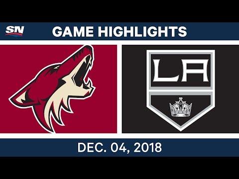 Обзор матча «Лос-Анджелес Кингз» — «Аризона Койотс»