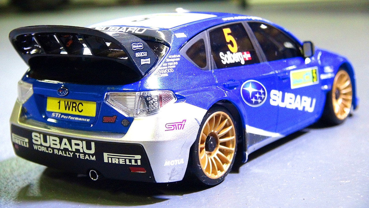Unbox Drift For The 1st Time Subaru Rally Kyosho Mini Z Awd