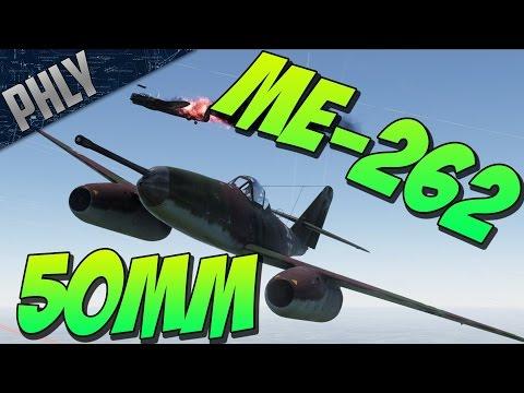 War Thunder - Me-262 50mm BOMBER HUNTER - War Thunder Jet Gameplay