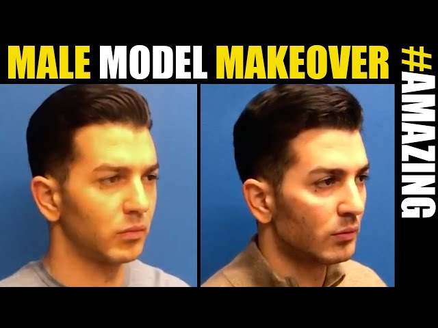 Male Model Makeover #12 in NYC, Chicago and Los Angeles