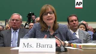 In testimony before Congress on Tuesday, General Motors CEO Mary Barra apologized to victims and fam