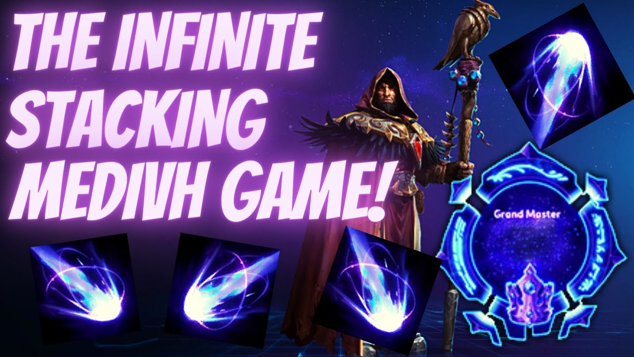 Medivh Leyline - The Infinite Stack Medivh Game! - Grandmaster Storm League