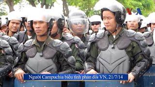 Hà Nội yêu cầu Campuchia có biện pháp đối với vụ đốt cờ VN ở Phnom Penh