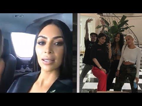 Kim Kardashian Reacts To Kylie Jenner Pregnancy