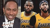 Stephen A. Smith this is Why Anthony Davis is the best teammate LeBRON has had