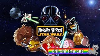 ANGRY BIRDS STARWARS GAME PLAY