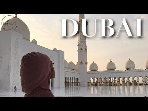 VLOG | DUBAI • ATLANTIS THE PALM, ROAD TRIP TO ABU DHABI & WORST FIRST DAY!