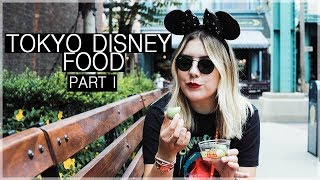 Tokyo Disney Food and Snacks Part I | Conscience Coupable