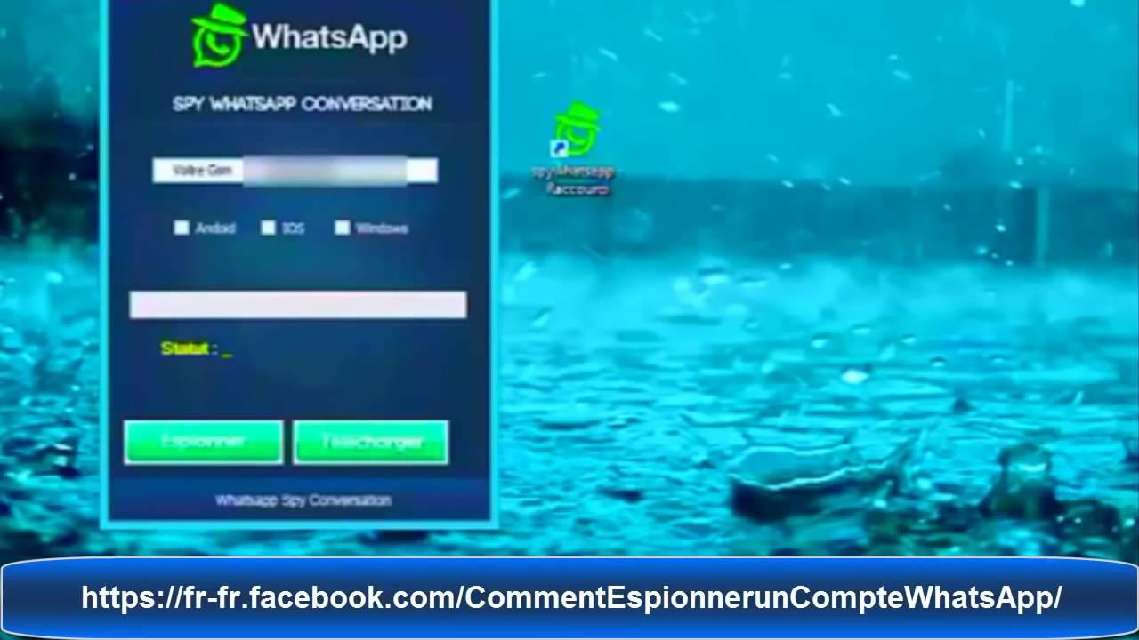 comment espionner whatsapp gratuitement