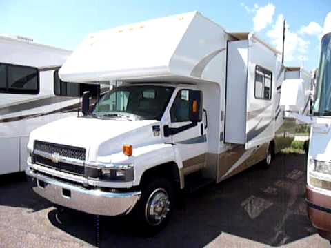 Chevy Duramax Diesel For Sale Used 2007 FOURWINDS KODIAK Class c - YouTube