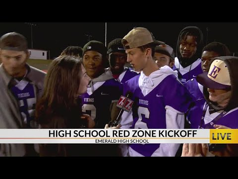 High School Red Zone Kickoff at Emerald High School